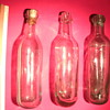 The beautiful antique bottles