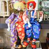 Ganz Posable Porcelain Clowns