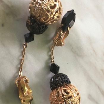 Lewis Segal Califorina earrings - Costume Jewelry