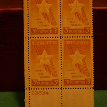 1948 United States Gold Star Mothers 3¢ Postage Stamps