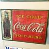 Rare Coca Cola sign
