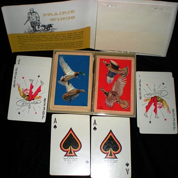 Prairie wings Cards double deck - Cards
