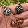 Scandinavian Earrings and Brooch