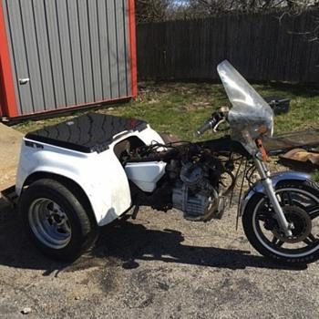 1979 Honda C X 500 police trike - Motorcycles