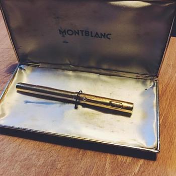 Gold 18k Montblanc Fountain Pen 1932  - Pens