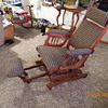 ROCKER/RECLINER WITH LYRE SIDES