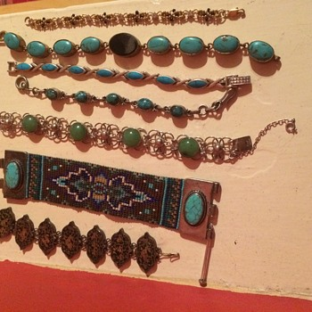 A  Collection of Bracelets found at the dump  - Fine Jewelry