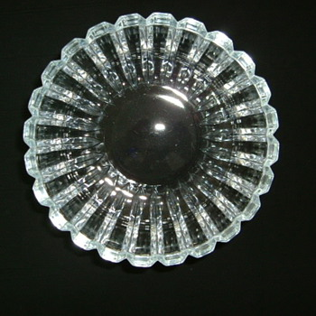 Japanese Crystal Bowl - Glassware