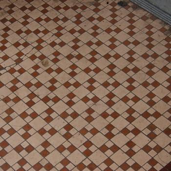 Tile Mosaic Sidewalks, Wilkes-Barre, PA - Pottery