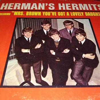 HERMAN'S HERMITS - Records