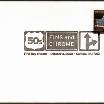 2008 - '57 Pontiac Safari Stamp First Day Cover - Stamps