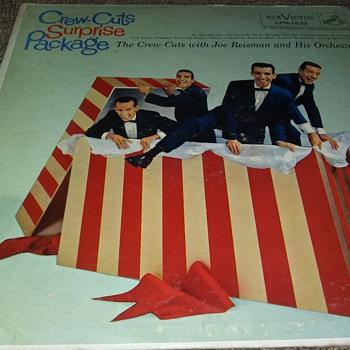 The Crew Cuts...On 33 1/3 RPM Vinyl - Records
