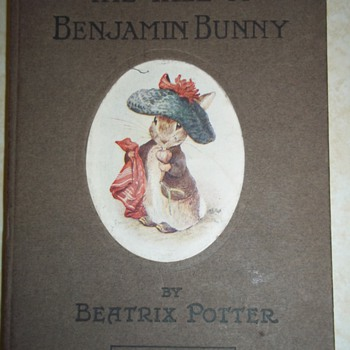 """The Tale of Benjamin Bunny"" 1904 by Beatrix Potter (1st Edition, I think!) - Books"