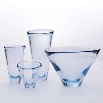 THULE vases, Per Lütken (Holmegaard, 1953) - Art Glass