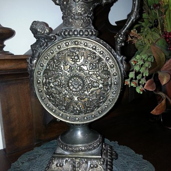 Victorian Urn??? I bought this in METZ France- heavy 7 lbs!  - Victorian Era