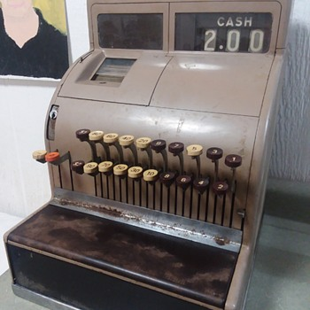1951 National Cash Register  - Coin Operated