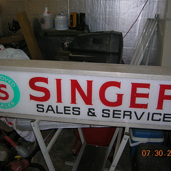 Singer sign - Signs