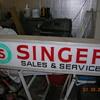 Singer sign
