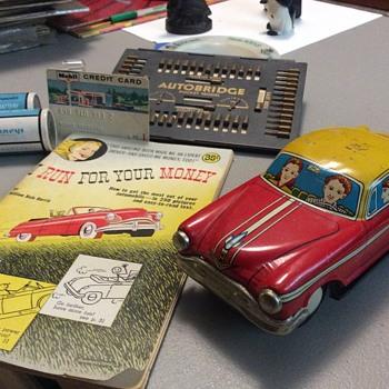 Tin toys - Model Cars