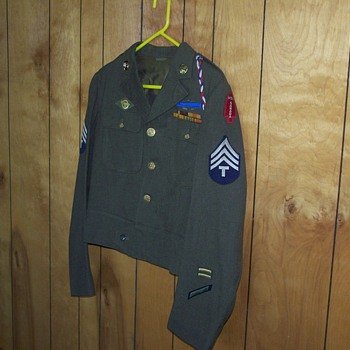 WW II First Special Service Force (Ike Jacket)  - Military and Wartime