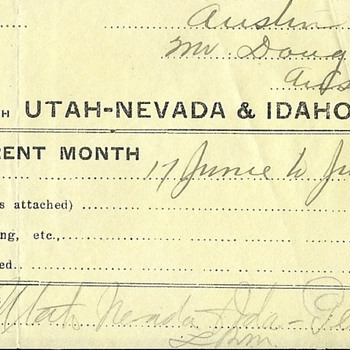 Utah Nevada & Idaho Telephone - Telephones