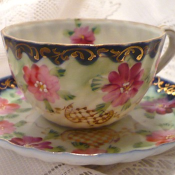 Unmarked Cup and Saucer - China and Dinnerware