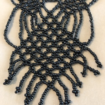 Egyptian beaded necklace from 1993 - Costume Jewelry