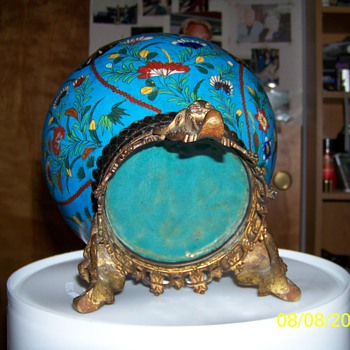 Antique Cloisonne bowl