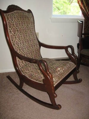 G. Thomas, Gooseneck Rocking Chair | Collectors Weekly