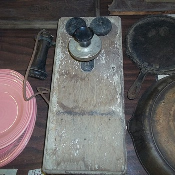 Vintage Wallphone - Telephones