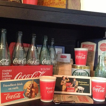 My coke collection.... So far - Coca-Cola