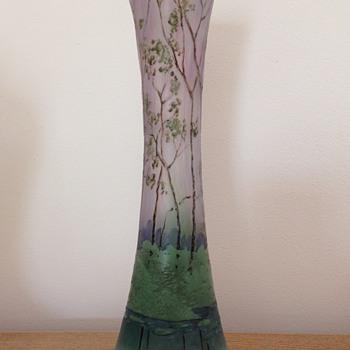 Legras' factory vase c1910 - Art Nouveau