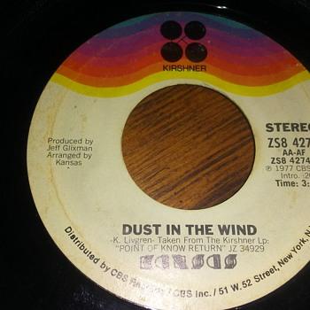 Kansas...On 45 RPM Vinyl - Records