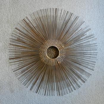1960's Friedle Sunburst - Mid-Century Modern