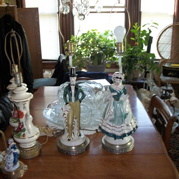large figural lamps - Lamps