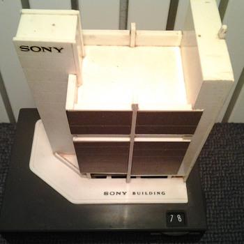 Sony Building (Tokyo) Radio 9R-41 - Radios