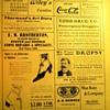 c. 1902 Sheet Music -  Coca-Cola Ad
