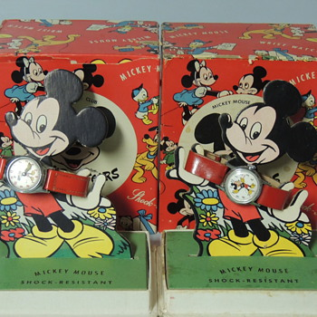 MICKEY WATCHES 1950S - Wristwatches