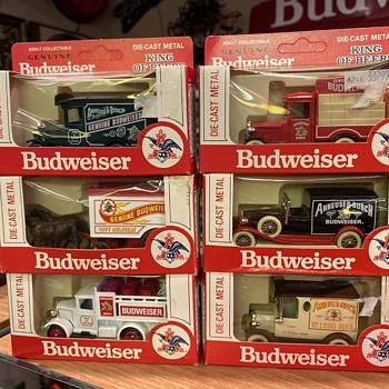 Budweiser Die cast trucks  - Breweriana