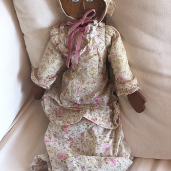 Flat Wooden Doll? - Dolls