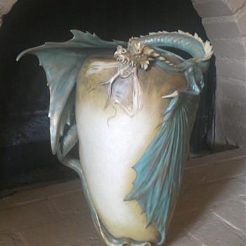 Amphora Dragon Vase