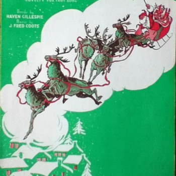 """Santa Claus Is Comin' To Town"" Sheet Music - Paper"