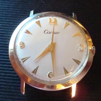 Cartier ....  J. Schulz Movement 17 Jwl 14k