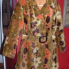 60's Groovy tapestry coat
