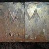 1800's Copper Engraved Wood Printing Blocks