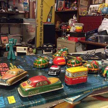 Tin litho toys - Toys