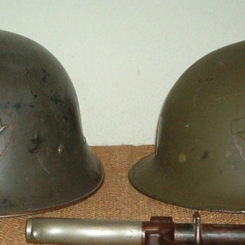 "Swedish Model 1921 / 18 ""high dome"" & M21 / 16 ""low dome"""