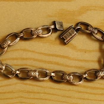 Silver art deco bracelet - Fine Jewelry