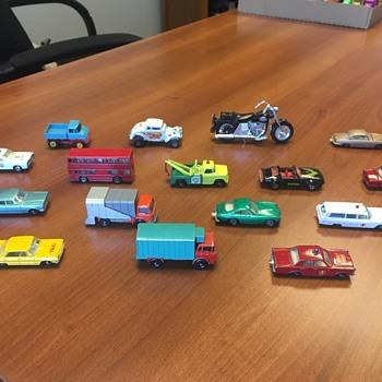 33 Matchbox Cars!