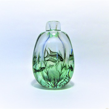 EDWARD HALD - SWEDEN - Art Glass
